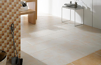 Terracottafliesen beige cotto ocker